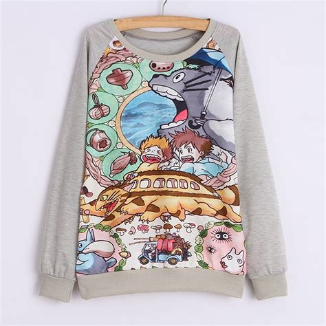 totoro sweater sudadera totoro totoro sweatshirt wh214 on storenvy