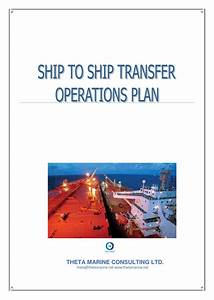 Theta Marine Sts Operations Plan By Capt  Ioannis