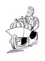 Agricultor Colorir Colorear Colorare Contadino Disegni Coloring Desenhos Agricultura Disegno Dibujos Dibujo Fazendeiro Pitchfork Tagliaerba Farmer Tractor Imprimir Fendt Desenho sketch template