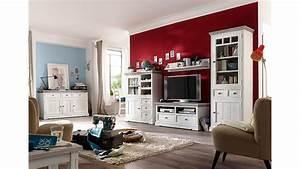 Vintage Wohnzimmer Möbel : wandboard opus wandregal in kiefer massiv wei vintage ~ Frokenaadalensverden.com Haus und Dekorationen