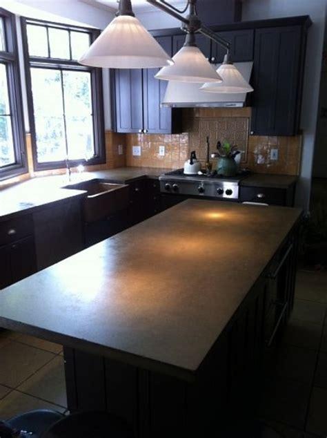 minimalist concrete kitchen countertop ideas digsdigs