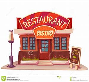Place clipart restaurant building Pencil and in color place clipart restaurant building