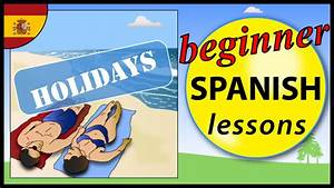 Holidays In Spanish