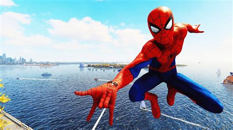 spider man ps classic suit spider man combat web