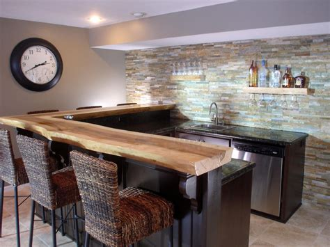 Bar Countertop Ideas by Basement Bar Ideas And Designs Pictures Options Tips
