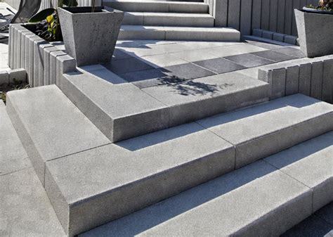 bloc marche escalier exterieur inspiration du