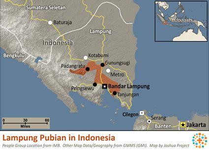 lampung pubian  indonesia joshua project