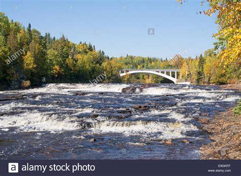 current river  black bay bridge thunder bay ontario