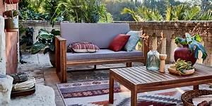 Salon De Jardin En Teck Pas Cher : salon de jardin pas cher notre s lection marie claire ~ Dailycaller-alerts.com Idées de Décoration
