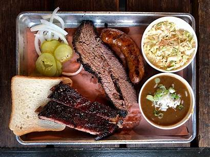 Bbq Barbecue Platter Orleans Texas Bread Oak