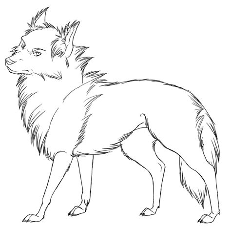 HD wallpapers coloring page wolf