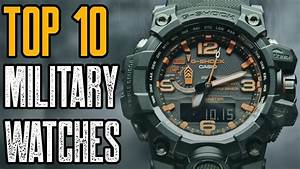 Top 10 Toughest Military Watches For Men 2019