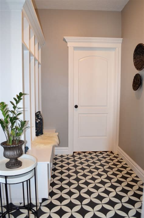 how to paint ceramic tile how to paint your ceramic floor tile the lettered cottage