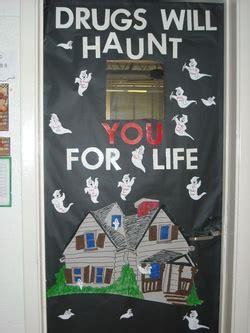 drugs  haunt   life classroom door decoration