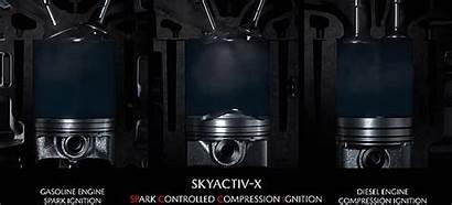 Engine Ignition Skyactiv Compression Diesel Mazda Spark