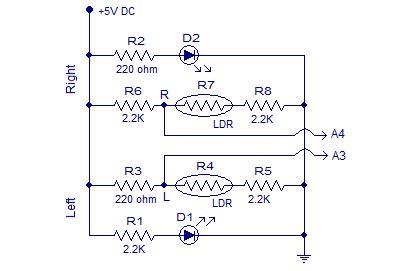 Line Follower Robot Using Arduino With Circuit Diagram