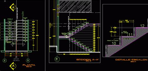 stair details dwg section for autocad designs cad