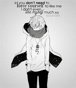 1373 best Anime... Anime Boy Quotes