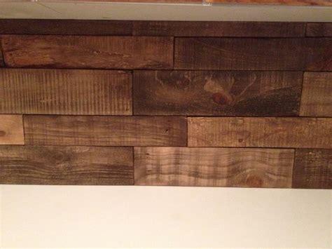 pictures of kitchen backsplash diy kitchen backsplash pallet wood minwax special