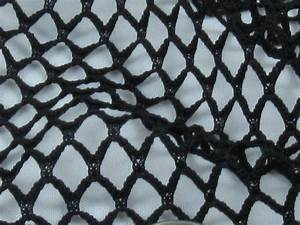 Buy Black Polyester Fishnet Fabric - Sewing Fabrics