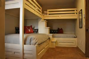 house plans with in suite custom bunk beds