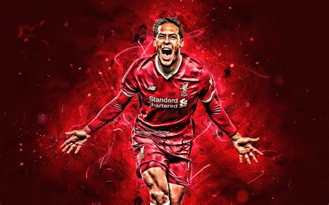Virgil van dijk has established himself as one of the finest defenders in world football since joining liverpool in january 2018. Download wallpapers Virgil van Dijk, goal, Liverpool FC ...