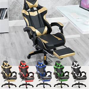 Pc, Gaming, Chair, For, Adults, Large, Size, High, Back, Computer, Desk, Office, Chair, Swivel, Ergonomic