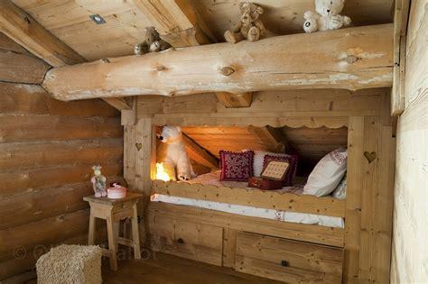 chambre 2 lits chalets nordika constructeur bois à bolquère pyrénées
