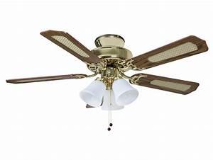 Fantasia Las Vegas 42 Polished Brass Ceiling Fan Light 12