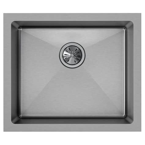 stainless steel undermount single bowl kitchen sink elkay crosstown undermount stainless steel 22 in single 9788