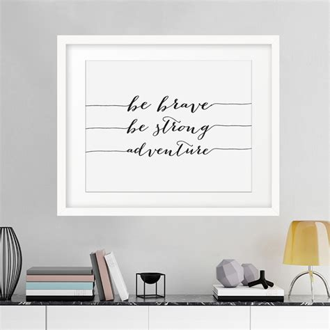 buy  brave  strong adventure canvas