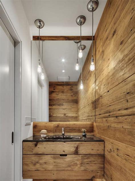 badezimmer holz interior design fuer kleine badezimmer