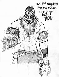 WWE Boogeyman Coloring Pages