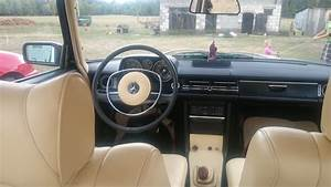 Interior Of Our W115 Mercedes