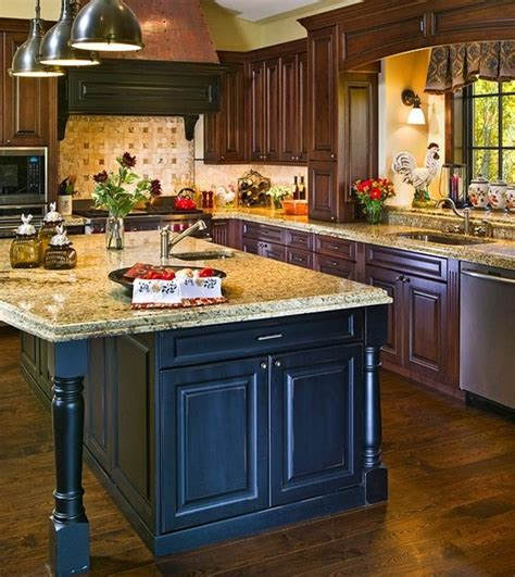 rustic kitchen island 1000 images about kitchen sink ideas on blue