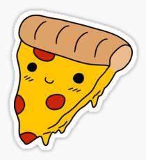 Pizza Cute Kawaii Chibi Happy: Stickers Redbubble