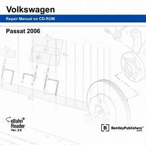 Volkswagen Passat 2006 Repair Manual On Cd-rom