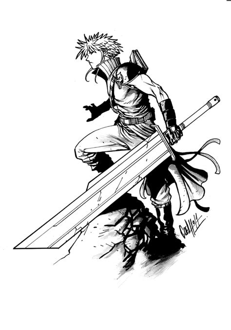 final fantasy  video games printable coloring pages