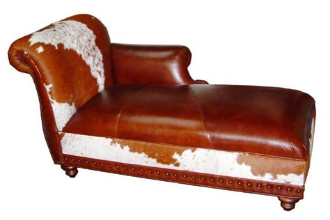 Cowhide Chaise by Cowhide Chaise Lounges Hair On Hide Chaise Lounge Free