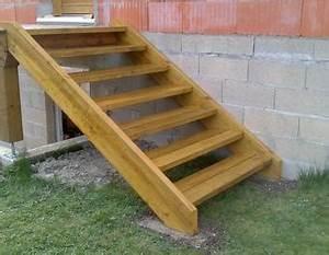 escalier exterieur autoclave instructions de montage With construire escalier exterieur bois