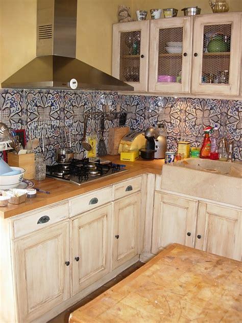r駭 une cuisine rustique peinture pour cuisine rustique maison design bahbe com