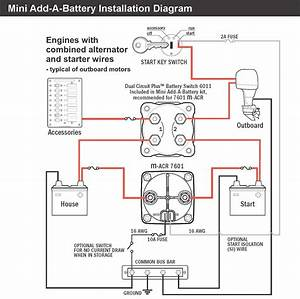 Cole Hersee 48122 Battery Isolator Wiring Diagram