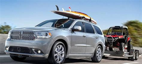 2019 Dodge Durango Towing Capacity & Utility Features