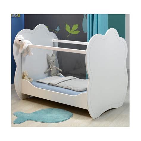 chambre bebe ikea lit bébé plexi blanc 60x120 louiblcm01