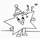 Coloring Star Shapes Pages Rock Singing Print Christmas Worksheets Shape Winter sketch template