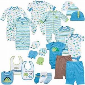 Newborn Baby Boy Clothing 22-Piece Perfect Baby Shower ...