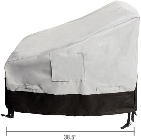 Furniture Seat Covers by 2 Pack Seat Chair Outdoor Furniture Patio Cover Ebay