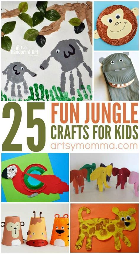 best 25 jungle preschool themes ideas on 112 | 36ea0f9f8f5a37f37cfafb665c8496c8 jungle crafts kids craft kids