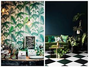 Tendance jungle : Nature luxuriante et camaïeu de verts