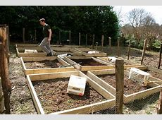 Making raised beds for our vegetable garden The Modern